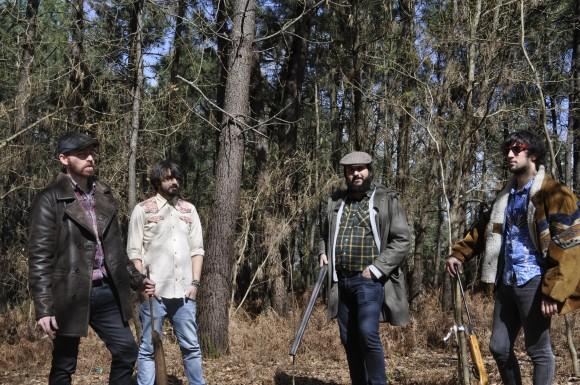 Cazador,  nos bosques de Valga