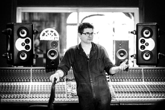 Steve Albini | Con mono de traballo